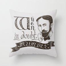 Mumble Throw Pillow