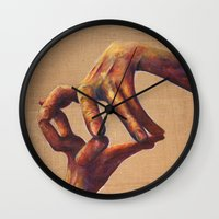architecture Wall Clocks featuring Architecture by Peter Dannenbaum