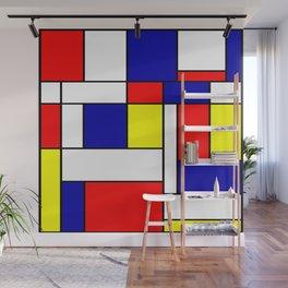 Mondrian #38 Wall Mural