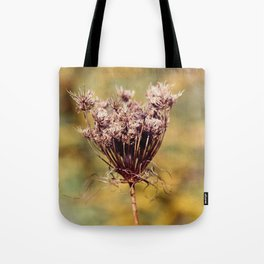 Autumn Lace Tote Bag