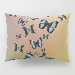 Cluster of Butterflies - Fly Away Home - 57 Montgomery Ave Pillow Sham