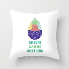 Zootopia - Anyone Can Do Anything Throw Pillow