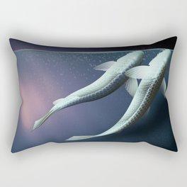 The carp's journey 5 Rectangular Pillow