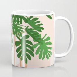Vase no. 26 with Tropical Plant Coffee Mug