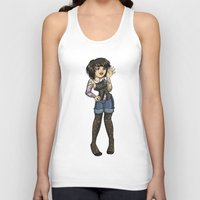 charlie Tank Tops featuring Charlie by Thedustyphoenix