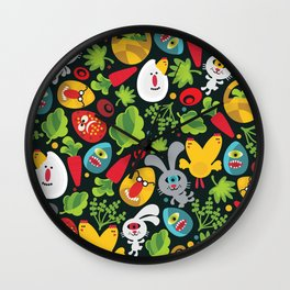 Ugly Easter. Wall Clock