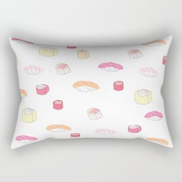 Pink Sushi Rectangular Pillow