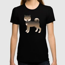 Sesame Shiba Inu Cute Cartoon Dog T-shirt