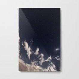 moon lit sky Metal Print