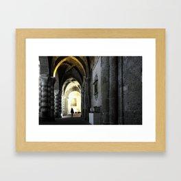 Sovana Cathedral Framed Art Print