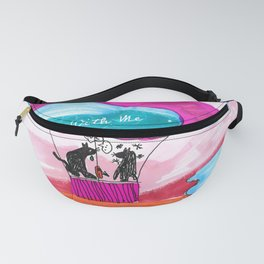FLY AWAY WITH ME Fanny Pack
