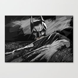 Bat hero Canvas Print