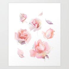 roses2 Art Print