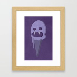 I SCREAM. YOU SCREAM. [07.10.13] Framed Art Print