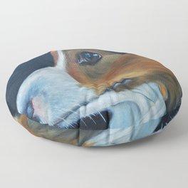 Sheltie Shetland Sheepdog Art Floor Pillow