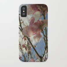 Hanging By A Moment Textured iPhone X Slim Case