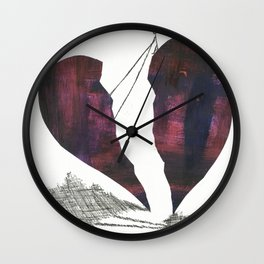 Restoring Love Wall Clock