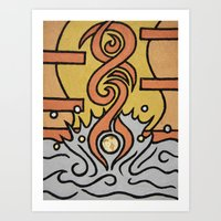 Diving - Sport Fever Art Print
