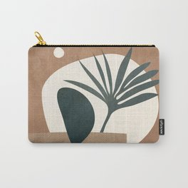 Abstract Plant in a Pot Carry-All Pouch