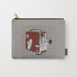 Vintage Movie Camera Carry-All Pouch