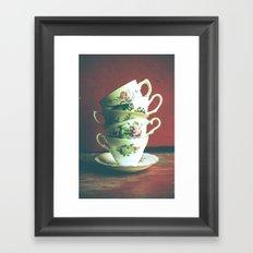 Vintage Tea 2 Framed Art Print