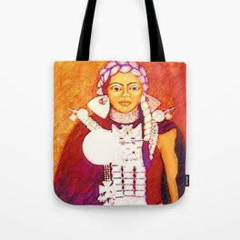 Daughter of the bright sun Tote Bag