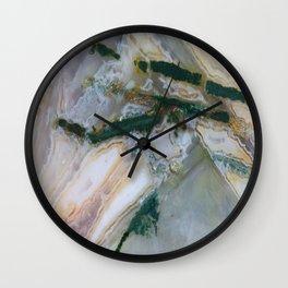 Chopstix Agate Wall Clock