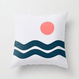 Nautical 06 No.1 Throw Pillow