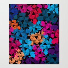 Colorful geometric Shapes Canvas Print