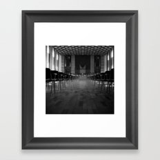 Haal Framed Art Print