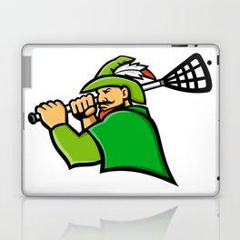 Archer Lacrosse Sport Mascot Laptop & iPad Skin