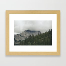 Road to Banff Framed Art Print