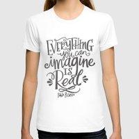 imagine T-shirts featuring IMAGINE by Matthew Taylor Wilson