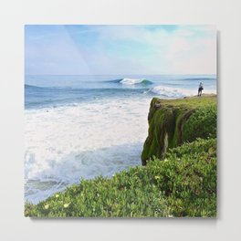Steamer Lane Metal Print