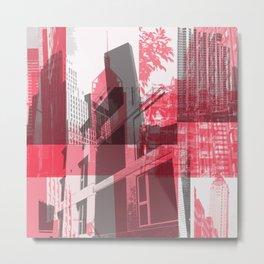 city life New york Metal Print