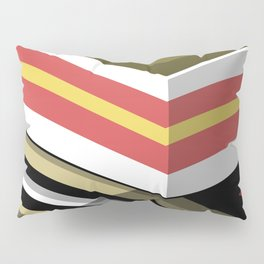 Abstract Lined Pillow Sham