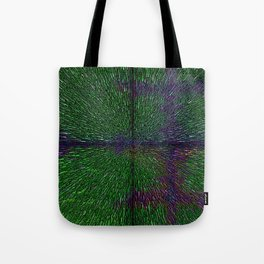 Abstract  Dimensional Art Tote Bag