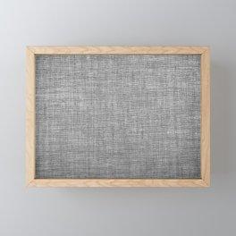 Canvas texture fashion design Framed Mini Art Print