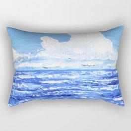Infinite blue Rectangular Pillow