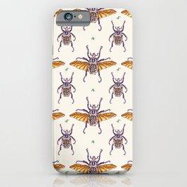flying Goliathus iPhone Case