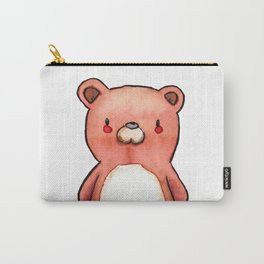 Teddy Bear watercolor Carry-All Pouch