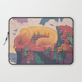 The creature of the mountain Laptop Sleeve