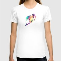 fairy tail T-shirts featuring Galaxy Fairy Tail Logo by ZipZapAttack