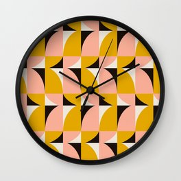 Modern Geometric_001 Wall Clock