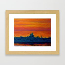 BIRTH OF A NEW DAY Framed Art Print