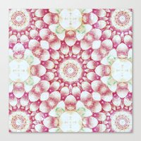 pomegranate Canvas Prints featuring Pomegranate by Truly Juel