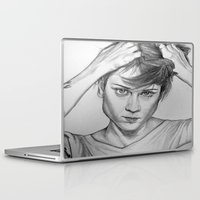 tegan and sara Laptop & iPad Skins featuring Tegan Quinn by AutumnGaurdian