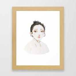 korean girl 2 Framed Art Print