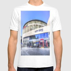 Besiktas JK Stadium Istanbul Mens Fitted Tee MEDIUM White