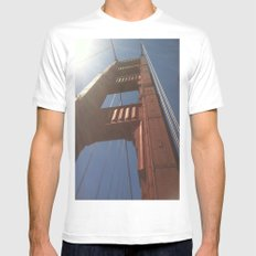 Sky High Mens Fitted Tee MEDIUM White